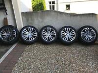 "Land Rover/Range Rover 21"" sport alloy wheels"