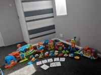 vtech TOOT TOOT DRIVERS bundle joblot airport fire train station garage launcher construction site