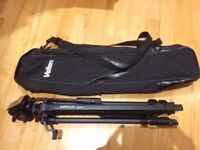 Velbon Arena 4000 tripod with PH248 head & Bag and quick release mount.