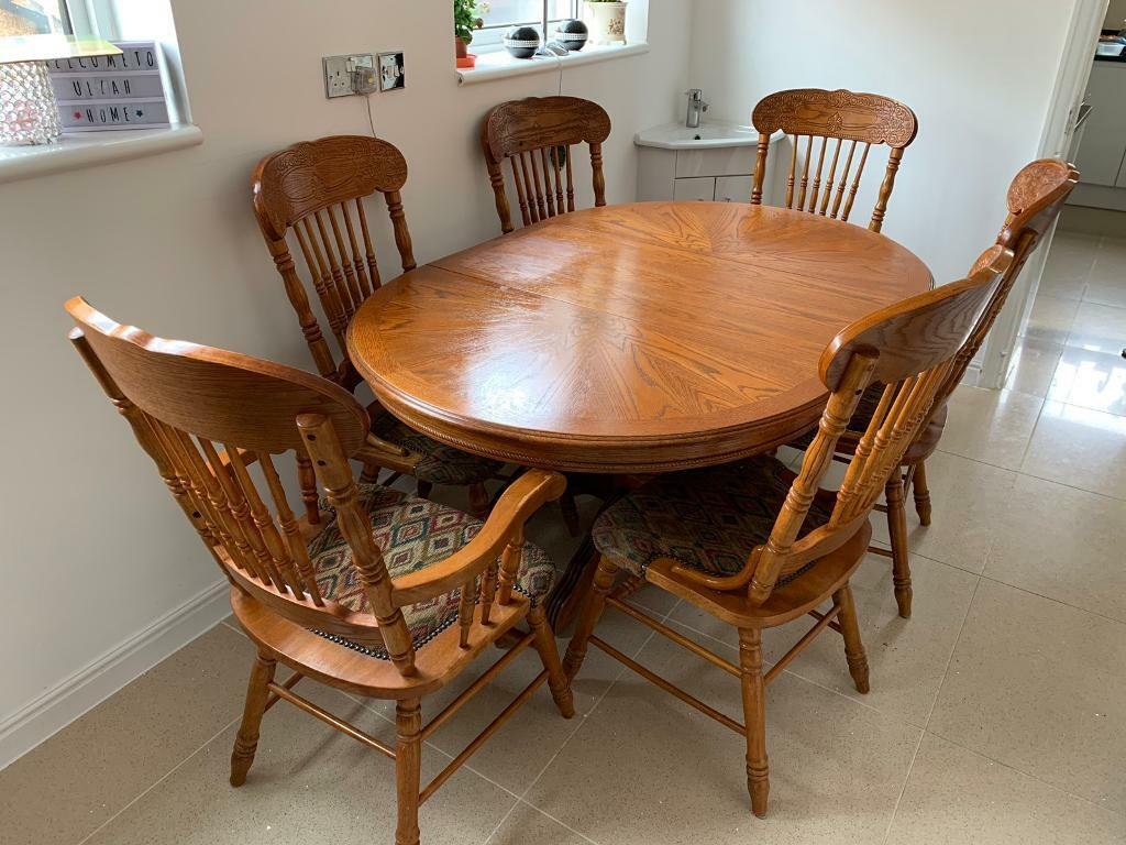 Beautiful Wooden Dining Table Plymouth