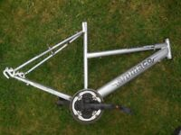 Ammaco Serena mountain bicycle frame with pedals & front gears