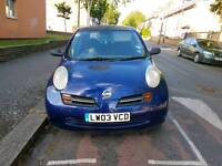 NISSAN MICRA 1.2 PETROL AUTOMATIC QUICK SALE