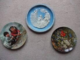 Three Limited Edition Collectors' Plates issued by the Bradford Exchange