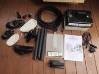 New - Earlex Complete Steam Cleaner Kit - Home Steamer & Wall Paper Stripper
