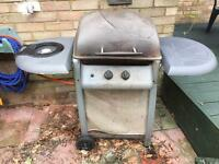 Monaco 2 burner gas barbecue - for spares or repair.