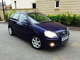 2009 REGISTERED VOLKSWAGEN POLO 1.2 MATCH 60 MOT 1 YEAR 5 DOOR MODEL