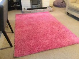 Pink Ikea Rug