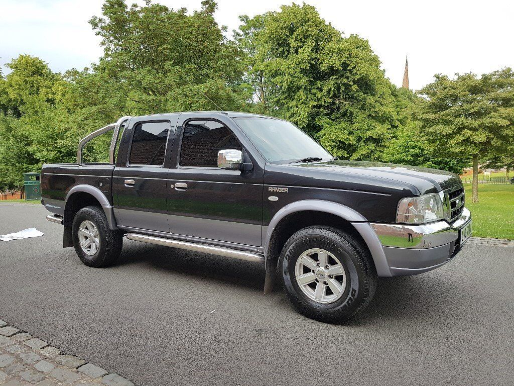 2005 FORD RANGER XLT 4X4 2.5 TURBO DIESEL 110 BHP 5 SPEED MANUAL IMMACULATE  CONDITION - MAZDA B2500