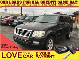 2007 Ford Explorer XLT * 4X4 * LEATHER * PWR ROOF * HTD PWR SEAT