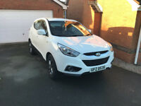 HYUNDAI IX35 1,7 DRDi 2014 GPS -BLUETOOTH-REAR CAMERA 32.000miles white 114 BHP DIESEL