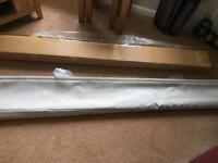 Harrow warm stone roman blind 180cmx147cm drop