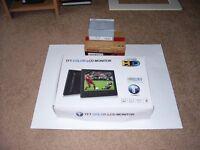 TFT COLOR LCD MONITOR AND CAMERA