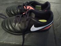 Boys astro boots and trainers size 2
