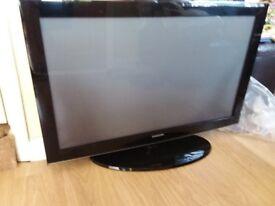 "42"" Samsung Plasma HD TV c/w stand and remote"