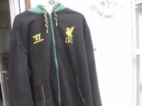 LIVERPOOL FC HOODY AS NEW SIZE XL PLUS OTHER LIVERPOOL GEAR