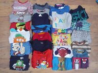 2 to 3 YEAR OLD BOY CLOTHING BUNDLE (18 - 36 MONTHS) Clothes T-shirts Jeans Trousers Jumper Sweater