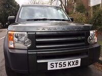 2006 LAND ROVER DISCOVERY 3 2.7 TDV6 AUTO DIESEL 7 Seats 4X4 Estate,GREEN Color,55 Reg,84000 Miles