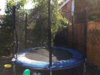 Used 8ft trampoline Free, collection only