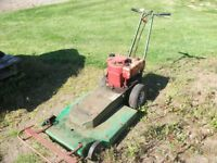 Old Lawnmower - for rough ground