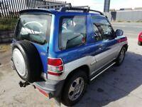 Mitsubishi SHOGUN PININ GLS GDI Auto,1834 cc 4x4,Sunroof,Alloys,Tow bar fitted,runs and drives well