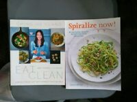 Eat clean and spiralize now Cook books