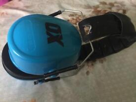 OX Ear Defenders safety head phones