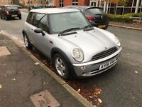 2006 MINI ONE 1.6 PETROL MANUAL HATCHBACK SILVER MOT EXCELLENT DRIVE CHEAP NOT COOPER CORSA ASTRA KA