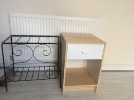SMALL DRAWER AND RACK