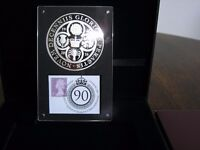 London Mint Office Flower Of The Nation Coin