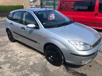 Ford focus zetec 1.6 petrol 04-plate! Mot and tax december! New clutch! 104,000 miles! £450!!