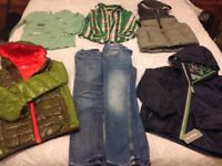 Boys clothes bundle, age 7 including 2 unworn coats ( 1 with tags) all excellent condition