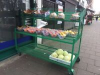 Fruit and Veg Shelves