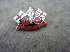 Collectible Army Badge Lest We Forget