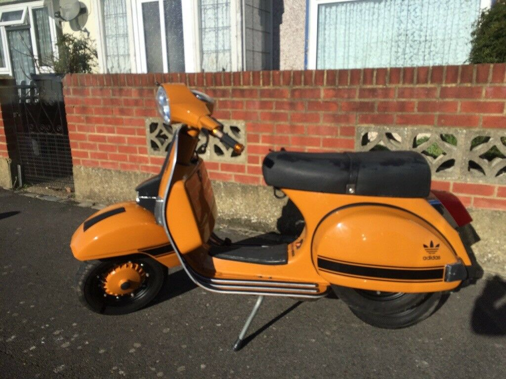 Lml/ Vespa 125 2 stroke geared has full stainless steel revolver exhaust  nice scooter | in Portsmouth, Hampshire | Gumtree