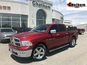 2012 Ram 1500 SLT/ LOW KMS/ UCONNECT W/ BLUETOOTH/$93 WKLY