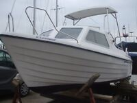 Crescent Hano Fast Fishing Boat & 30hp/22.1kW fuel injection BET Outboard