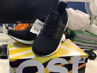 Adidas UltraBOOST in Size 9 in Black/White - Brand New