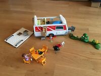 Playmobil Large Car and Caravan