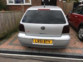 Modified VW Polo, new custom exhaust, tinted windows. Contact for more information.