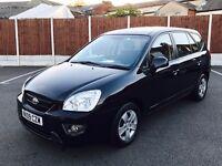 KIA CARENS 2.0 GS 5dr (7 seat) Auto (black) 2009