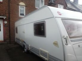 Burstner Caravan 5 Berth