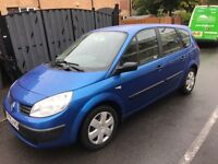 Renault scenic authentique 1.6 16v 05-plate! 7 seater mpv! 12mths mot! 79,000 miles! Runs Great £795