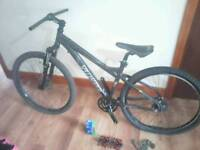 Specialized hardrock sport custom and parts
