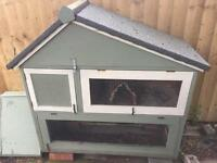 Rabbit / Guinea-Pig Hutch & Separate Run
