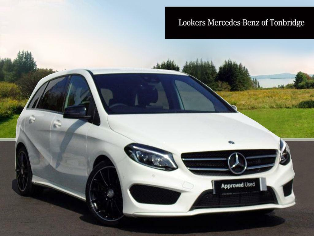 mercedes benz b class b 180 d amg line premium white 2017 04 11 in tonbridge kent gumtree. Black Bedroom Furniture Sets. Home Design Ideas