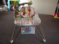 Fisher Price Woodsy Friends Bouncer VGC