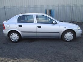 2001 Vauxhall Astra 1.6 5Doors manual With Long MOT PX Welcome
