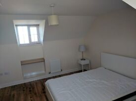 Large double bedroom, access to private bathroom. Suitable for part time lodger. £350 all bills inc