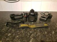 Nikon D600 with battery grip(Body Only)