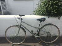 Vintage Town/City Bike by Puch Austrian Bicycle 'Metallic Green' Cycling
